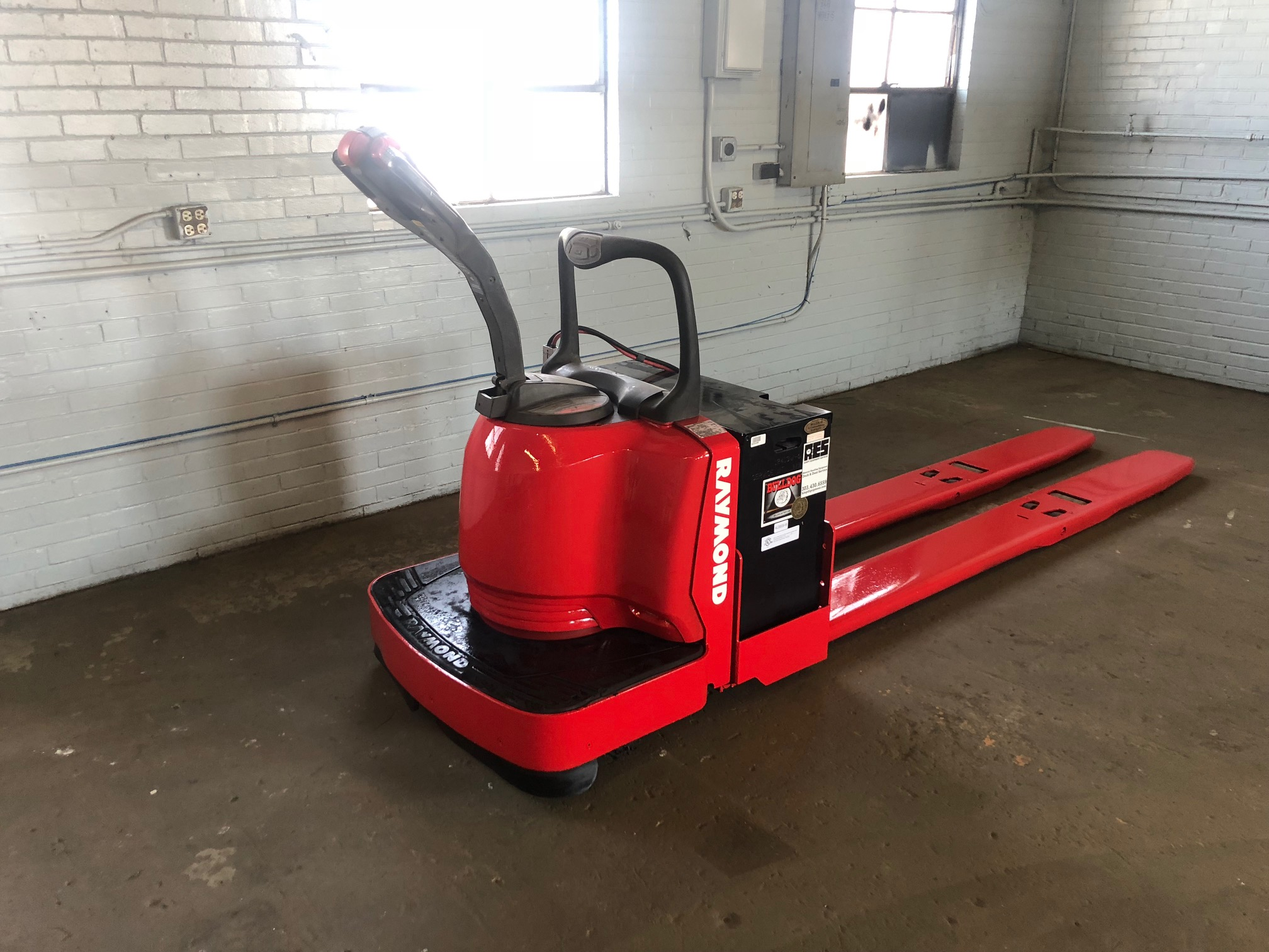 Raymond Pallet Jack With New Battery Adept Equipment